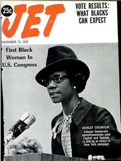 Shirley Chisholm.  U