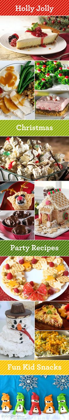 Christmas Recipes and Fun Snacks!