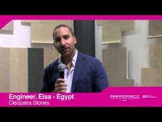 Marmomacc 2012: Engineer. Eisa (Cleopatra Stones, Egypt)