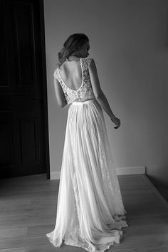 Film Noir in White: Lihi Hod Wedding Dresses 2015 see more at http://www.wantthatwedding.co.uk/2015/03/23/lihi-hod-wedding-dresses-2015/