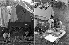 Régi retró fotókat mutatunk a 70-es, 80-as évek kempingezéseiről.