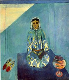 Henri Matisse (1869 - 1954) | Expressionism, Orientalism | Zorah on the Terrace - 1912