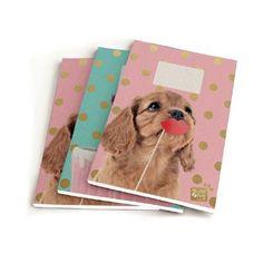 Studio Pets schrift A5 - lijn - 3 stuks  Breid je schoolcollectie uit met deze schattige gelinieerde A5-schriften van Studio Pets. De verpakking bevat drie schriften.  EUR 4.95  Meer informatie