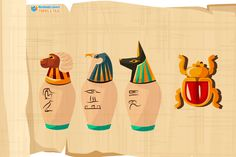 Biology in ancient Egypt | Facts & history of the development of the animal and plant sciences of the pharaohs, discover what are the most important animals sacred to the ancient Egyptians in the Pharaonic civilization.