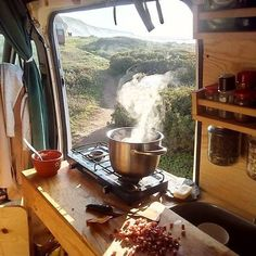 22 DIY Camping Guide to Living in Your RV Camper Van – Vanchitecture Camping Diy, Van Camping, Camping Ideas, Camping Guide, Couples Camping, Camping Games, Camper Life, Rv Campers, Diy Camper