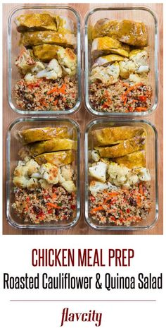 Chicken Curry Meal Prep by FlavCity