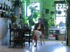 Step inside the verdant oasis Summer Rayne Oakes calls home.