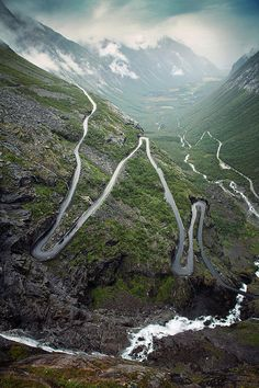 Trollstigen (aka Trolls' Ladder), Norway