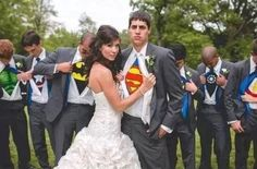 Cool wedding photo:)