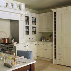 vintage kitchen interior recycled