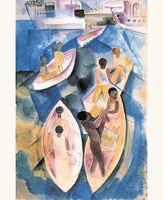 lilithsplace:  Merchants - Lasar Segall (1891–1957)