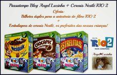 Amostras e Passatempos: Angel Luzinha - Passatempo Cereais Nestlé RIO 2