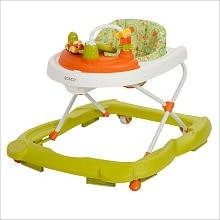 Holds child up to 30 pound or 13.6 kg Note: child must be able to sit up unassisted Large snack and play area Seat easily adjusts to 3 height positions Bead rail teether
