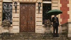 Chateau de Wideville front door ext Chateau de Wideville, Valentino's Home Near Paris
