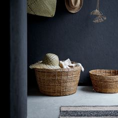This basket made of banana fibres is handwoven by skilled artisans and is part of our TJILLEVIPS collection. With its soft shape and colour, it adds an ornamental touch wherever you choose to put it. All Plants, Green Plants, Ikea Basket, Banana Plants, Ikea Family, Growing Greens, Plant Fibres, Parts Of A Plant, New Living Room