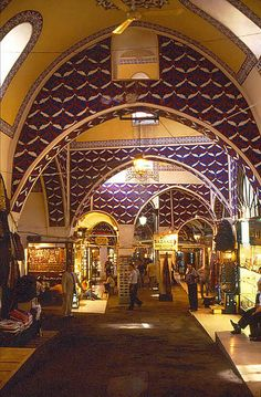Gran Bazar Istambul http://www.yourcruisesource.com/two_chefs_culinary_cruise_-_istanbul_to_athens_greek_isles_cruise.htm