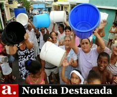 CAASD: La escasez de agua es crítica y preocupante
