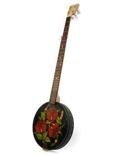 Black Tin Banjo | Great Plains Handmade Instruments