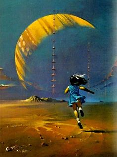 "Bruce Pennington - The Airs of Earth, 1971.   ****If you're looking for more Sci Fi, Look out for Nathan Walsh's Dark Science Fiction Novel ""Pursuit of the Zodiacs."" Launching Soon! PursuitoftheZodiacs.com****"