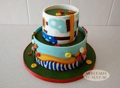 Salvation Mountain Cake 3