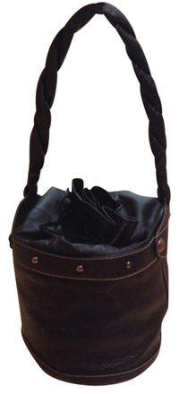 d9e512155769ff Fendi Bucket Black Leather Tote. Get one of the hottest styles of the  season!
