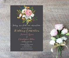 A personal favorite from my Etsy shop https://www.etsy.com/listing/249939640/wedding-invitation-digital-file-card