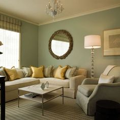 Living Room Green Ideas Yellow And Sage