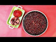 ▶ GRANATAPFEL-SCHOKOLADEN-TARTE | Pomegranate Chocolate Tarte - YouTube