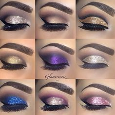 Eye make up Cute Makeup, Gorgeous Makeup, Pretty Makeup, Makeup Goals, Makeup Inspo, Makeup Inspiration, Makeup Ideas, Lila Make-up, Eye Make