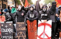 blogAuriMartini: Pai Anarquista ( Old Black Bloc ) ! Para refletir