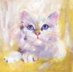 """Daily Paintworks - """"Blanc le Blanc"""" by Pamela Gatens"""