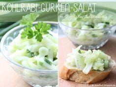 {Rezept} Kohlrabi-Gurken-Salat mit Joghurtdressing (via Bloglovin.com )