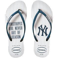 1c1497bcb0544 New York Yankees Havaianas Women s Slim Sandals