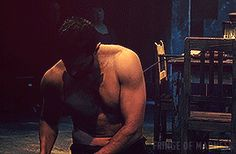 Bathing scene - The Crucible. He is so incredibly sexy! #deliciouslyhandsome #RichardArmitage