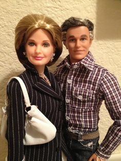 """Father & Mother of Kenneth Thomas Sr."""" Thanks """"Jwarlocke"""" for the inspiration of Mrs. Barbie Life, Barbie World, Collector Dolls, Couple Photos, Beauty, Porcelain, Plastic, Couples, Friends"""