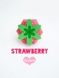 Strawberry Treat Box Printable