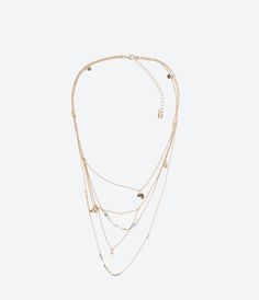 ZARA - WOMAN - UNTITLED JEWELS COLLECTION NECKLACE
