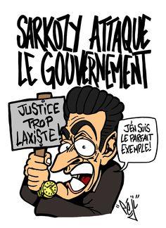 Péji - Caricature : Nicolas Sarkozy attaque la gauche Caricatures, Nicolas Sarkozy, Peanuts Comics, Gauche, Humor, Drawings, Caricature, Caricature Drawing
