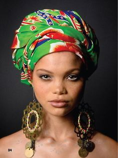 I love head wraps and this is one of the best i've seen