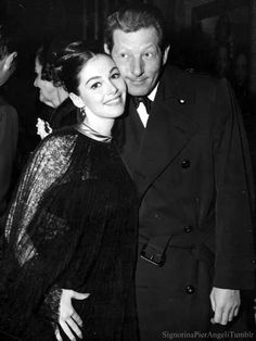 Pier Angeli and Danny Kaye at the premiere of Merry Andrew