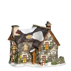 """Department 56: Products - """"Prettywell Sisters Lace Makers"""" - View Lighted Buildings"""