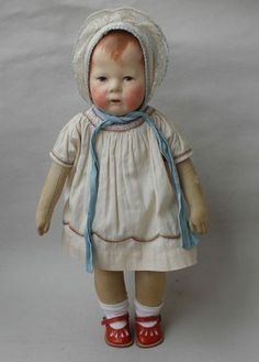 Antike Käthe Kruse Puppe Puppe I um 1915-20 | eBay