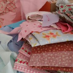 I am sorting through my fabric today. Some new designs are on their way!