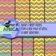 *50% OFF FOR THE FIRST 48 HOURS* Included in this set are 9 12x12inch burlap, glitter and pastel colors digital paper. 300DPI Enjoy and have a happy day! I have included my TOU in your set. All free & paid graphics from A Little Peace of Africa may be used commercially or in your free products - credit must be given back to A Little Peace of Africa (for both paid and free products)