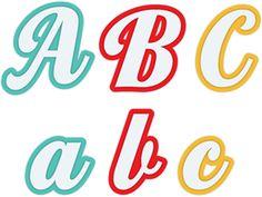 Lettering Fonts Discover View Design a b c Alphabet Templates, Alphabet Design, Birthday Doodle, Alphabet Code, Silhouettes, Letter Stencils, Creative Lettering, Calligraphy Alphabet, Tattoo Fonts