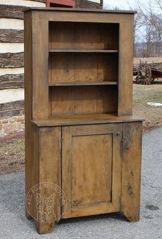Rustic Furniture DIY Painting Wooden Furniture Tips Primitive Cabinets, Primitive Furniture, Rustic Furniture, Painted Furniture, Colonial Furniture, Antique Furniture, Modern Furniture, Furniture Buyers, Furniture Stores