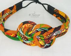 Kente Fabric Designs: See These Kente Styles For Fashionable Ladies - Lab Africa African Accessories, Diy Hair Accessories, African Jewelry, Women Accessories, Rope Jewelry, Fabric Jewelry, Jewelry Crafts, Diy Accessoires, Kente Cloth
