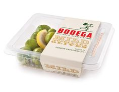 Bodega - a line of olive and antipasti products.  (designed by Thomas Akerfekt for Pearlfisher Designs)