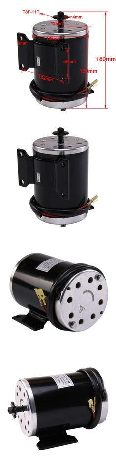 Parts and Accessories 11332: 1000 W 48V Dc Electric Motor And Base For Scooter Bike Go-Kart Minibike My1020 BUY IT NOW ONLY: $84.75