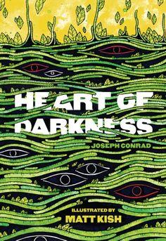 "Illuminated ""Heart of Darkness,"" lavishly illustrated by MattKish"